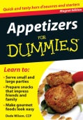 Appetizers for Dummies: Quick and Tasty Hors D'oeuvres and Starters: Magnet Edition (Paperback)