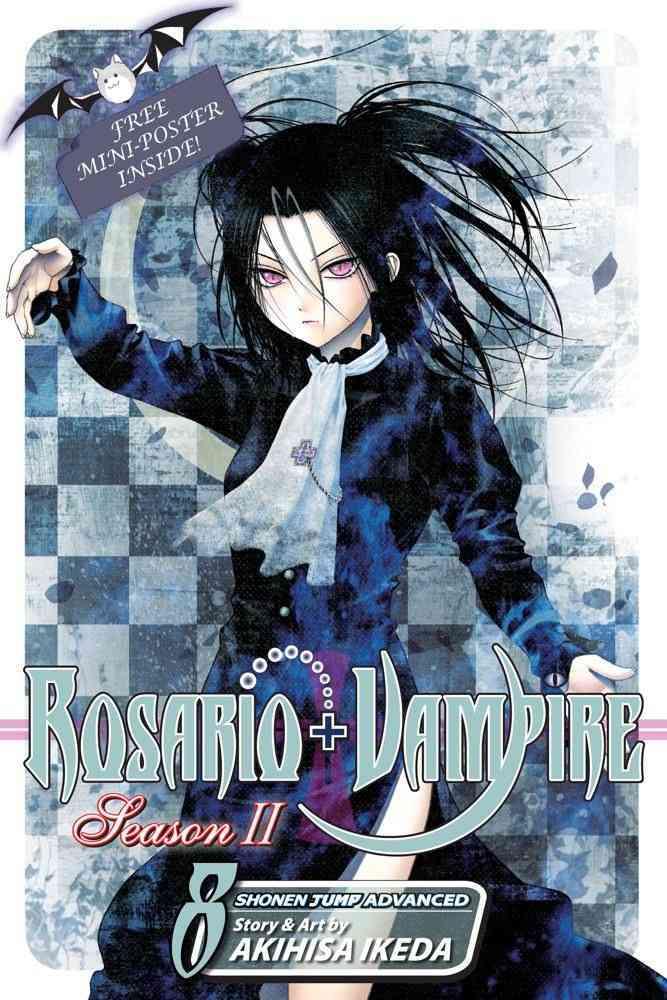 Rosario + Vampire: Season II 8: The Secret of the Rosario (Paperback)