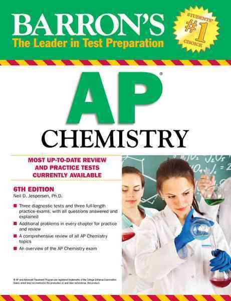Barron's AP Chemistry (Paperback)