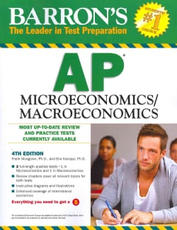 Barron's AP Microeconomics/Macroeconomics (Paperback)