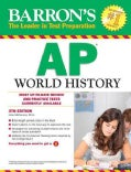 Barron's AP World History (Paperback)