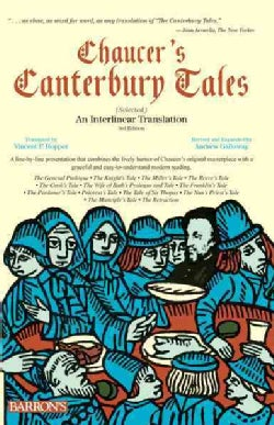 Chaucer's Canterbury Tales (Selected): An Interlinear Translation (Paperback)