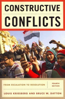 Constructive Conflicts: From Escalation to Resolution (Paperback)