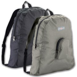 Lewis N. Clark Black Packable Backpack (Set of 2)