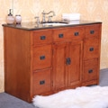Granite 48- inch Single Sink Bathroom Vanity