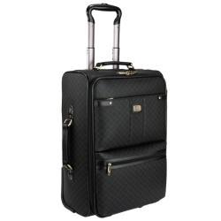 Rioni Signature Black 29-inch Wheeled Upright Suitcase