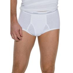 Hanes Men's White Brief