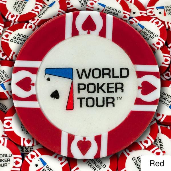 World Poker Tour 11.5-gram Poker Chips (Pack of 500)