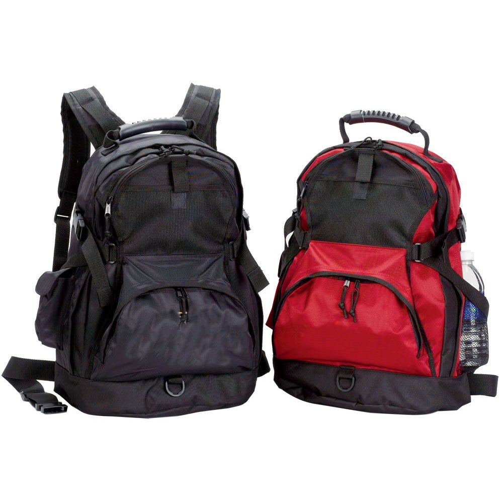 World Traveler Ultimate Gear Backpack with Multiple Compartments