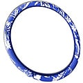 Hawaiian Blue 15-inch Universal Steering Wheel Cover