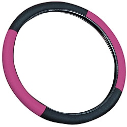 Pink 15-inch Universal Steering Wheel Cover
