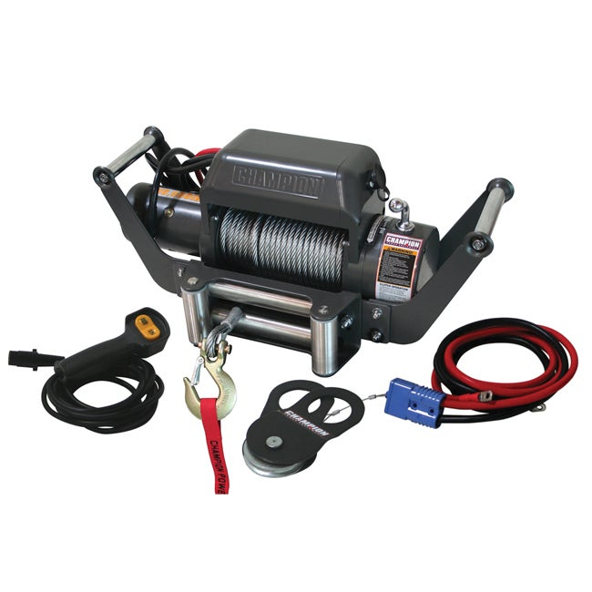 Champion 10,000-lb Heavy Duty Truck/ Jeep Winch