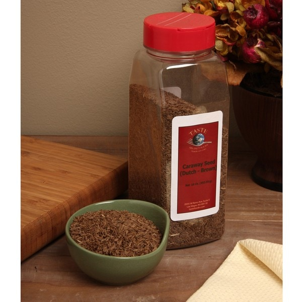 Taste Specialty Foods 16-ounce Caraway Seed (Pack of 4)