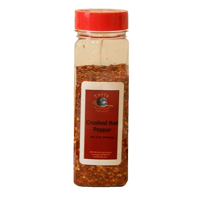 TASTE Specialty Foods 12-ounce Red Crushed Pepper (Set of 4)