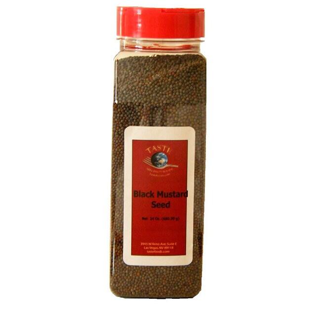TASTE Specialty Foods 24-oz Black Mustard Seeds (Pack of 4)