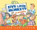 Five Little Monkeys Go Shopping (Paperback)