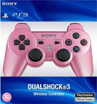 PS3 - Dualshock 3 Candy Pink (Wireless)
