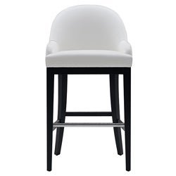 "Sunpan Haven 30"" White Barstool"