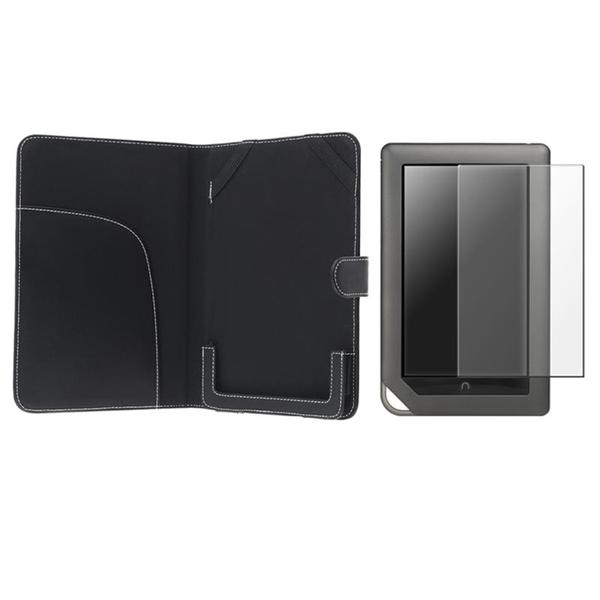 Leather Case/ Screen Protector for Barnes & Noble Nook Color