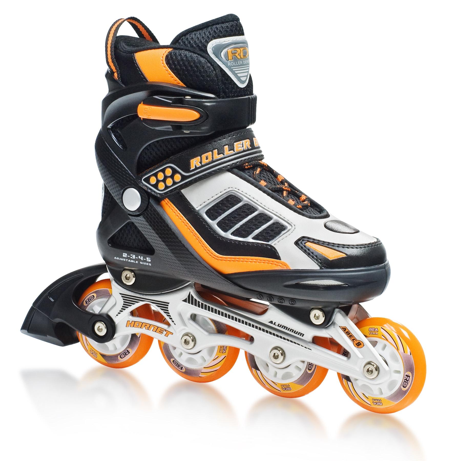 Hornet Pro Boy's Adjustable Inline Skates