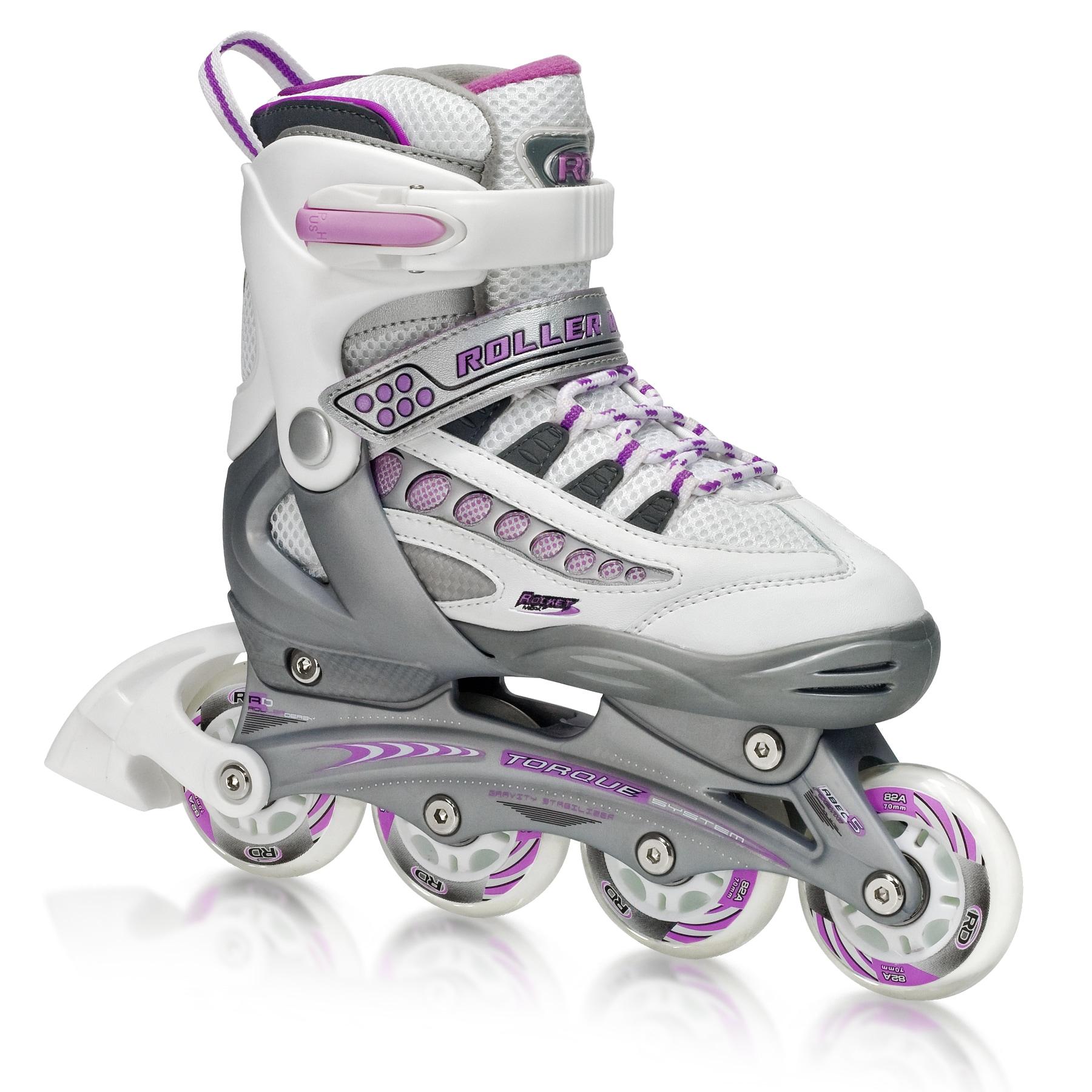 Rocket MDX Girl's Adjustable Inline Skates