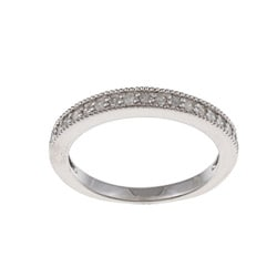 Sterling Silver 1/3ct TDW Diamond Band (G-H, I1-I2)