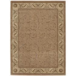Nourison Summerfield Peach Rug (5'6 x 7'5)