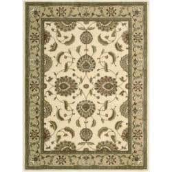 "Nourison Summerfield Traditional Ivory Rug (7'9"" x 10'10"")"