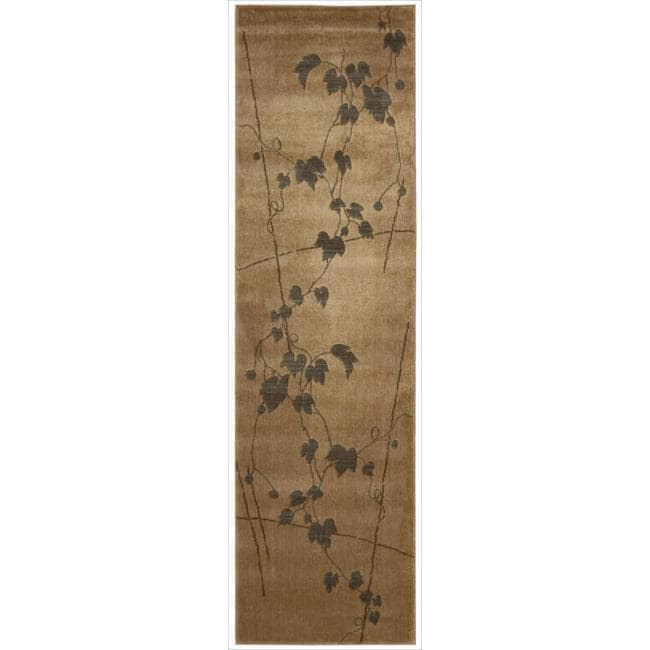 "Nourison Summerfield Gold Area Rug (2' x 5'9"")"
