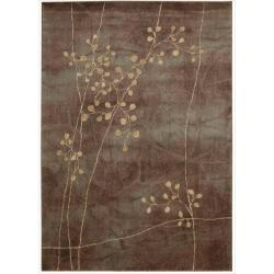 "Nourison Summerfield Multicolor Polyacrylic Rug (3'6"" x 5'6"")"