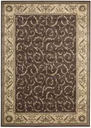 Nourison Summerfield Brown Rug (3'6 x 5'6)