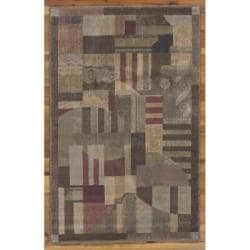 """Nourison Summerfield Multicolor Abstract Rug (3'6"""" x 5'6"""")"""