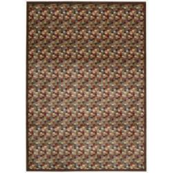 "Nourison Summerfield Abstract Multicolor Rug (5'6"" x 7'5"")"