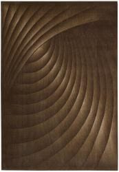 Nourison Summerfield Brown Abstract Rug (3'6 x 5'6)