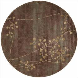 Nourison Summerfield Multicolor Rug (5'6 Round)