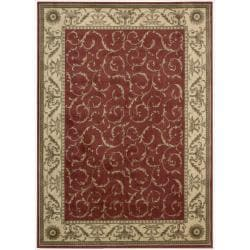 Nourison Summerfield Red Rug (7'9 x 10'10)