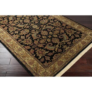 Hand-knotted Downing Wool Rug (8' Square)