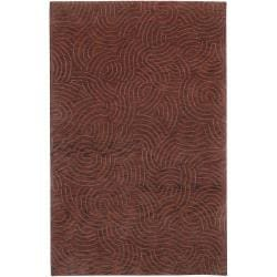 Julie Cohn Hand-knotted Ridgewood Abstract Design Wool Rug (8' x 11')