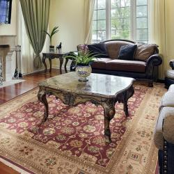 Hand-knotted Galen Wool Rug (9' x 12')