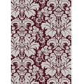 Brilliance Damask Area Rug (5'5 x 7'7)