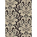 "Brilliance Floral Damask Area Rug (5'5"" x 7'7"")"