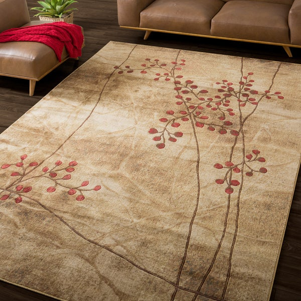 Nourison Summerfield Latte Rug (7'9 x 10'10)
