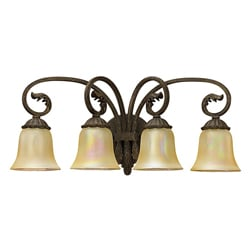 Windsor Manor Four Light Vanity Fixture