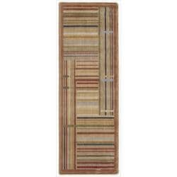 Nourison Summerfield Multicolor Striped Rug (2' x 5'9)