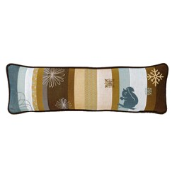 Corona Decor Modern French Jacquard-woven Decorative Pillow