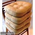 Baxter Non-slip Oversize Welted Chair Pads (Set of 4)