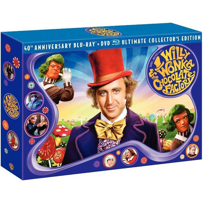Willy Wonka And The Chocolate Factory: 40th Anniversary Ultimate Collector's Edition (Blu-ray Disc)