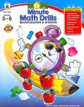 More Minute Math Drills: Multiplication & Division; Grades 3-6 (Paperback)