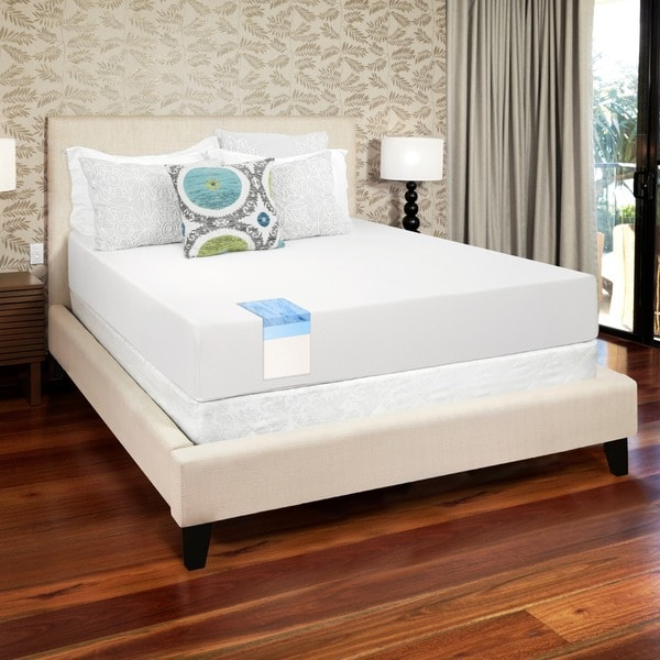 Select Luxury Gel Memory Foam 10-inch Queen-size Medium Firm Mattress