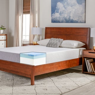 Select Luxury Swirl Gel Memory Foam 10-inch Queen-size Medium Firm Mattress